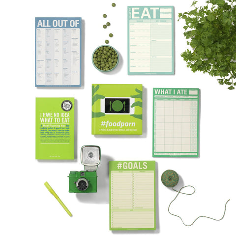 Knock Knock Meal Planning, and Health Tracking Pads and Foodie Gifts
