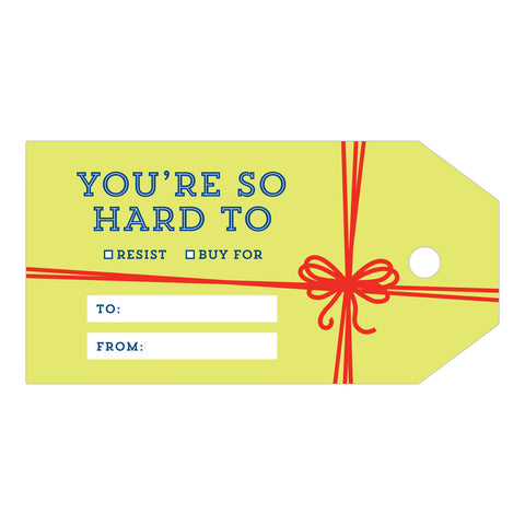 Knock Knock Holiday Ribbon Gift Tags