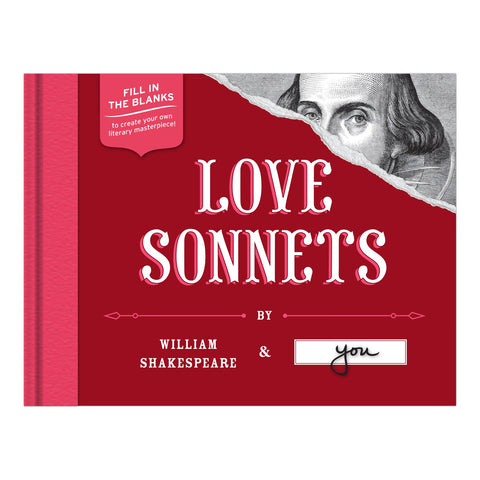 Knock Knock Love Sonnets by William Shakespeare and You
