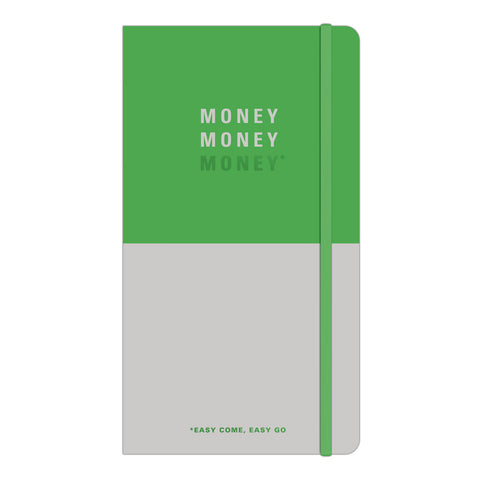 Knock Knock Money Money Money Receipt Catcher Folio with Notepad