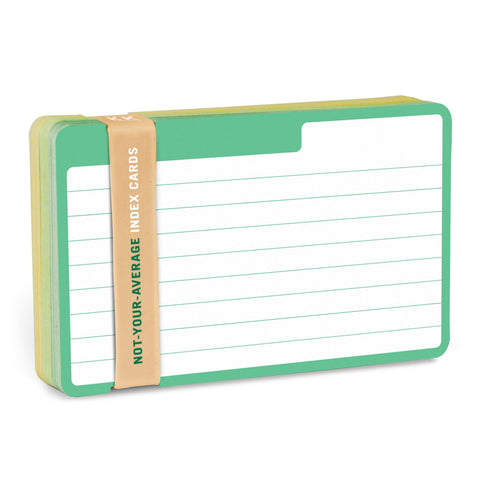 Knock Knock Tabbed Index Card