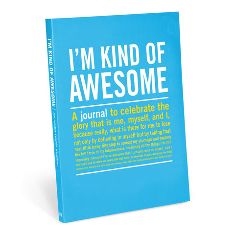 Knock Knock I'm Kind Of Awesome Inner-Truth Journal
