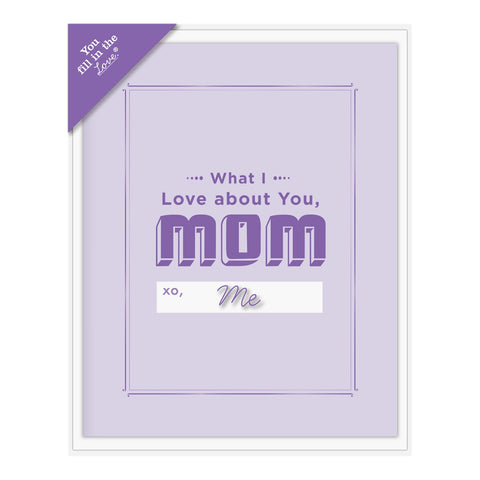 Knock Knock What I Love about Mom Fill in the Love Card Booklet