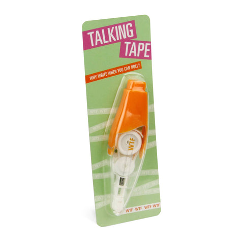 Knock Knock WTF Talking Tape