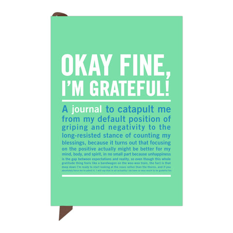 Knock Knock Okay Fine, I'm Grateful Mini Inner-Truth Journal