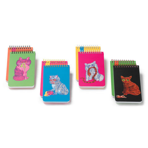 Plumb Notebooks Killer Cat Spiral Notebooks by Matt Furie