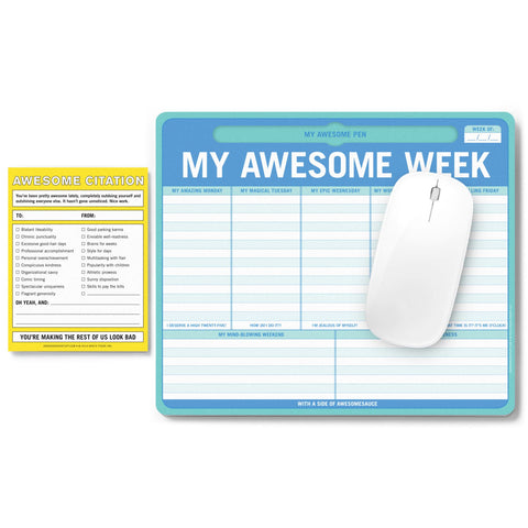 Knock Knock Awesome People Only Notepad Set