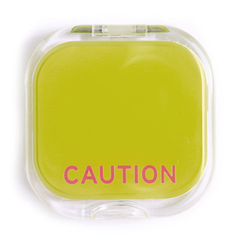 Knock Knock Caution Compact