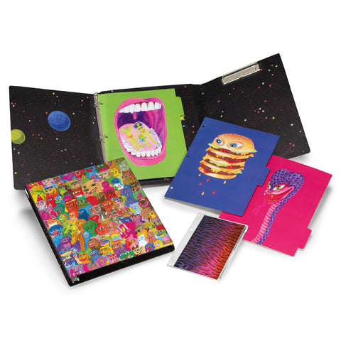 Plumb Notebooks Monster Aliens Binder Set
