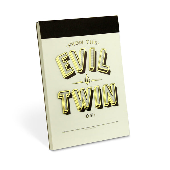 Knock Knock Evil Twin Alter Ego Pad