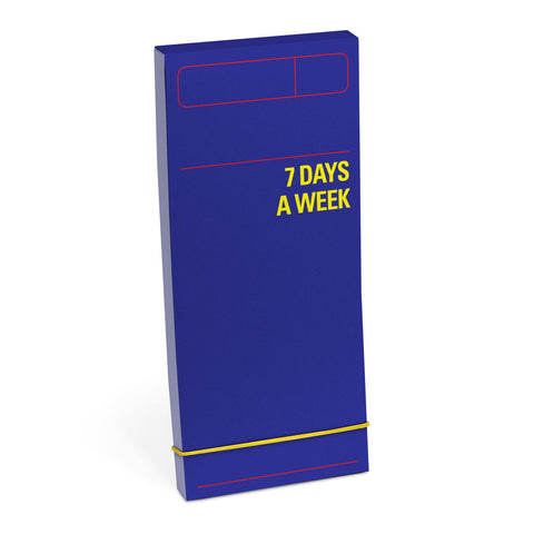 Knock Knock 7 Days a Week Planner (Blue)