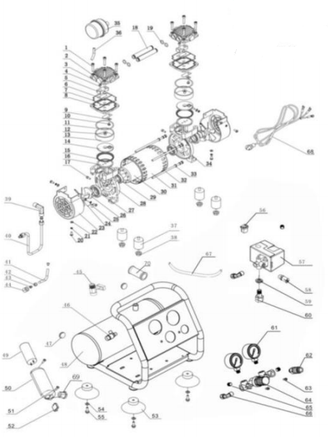 Eagle Silent Series 2000 Parts Diagram