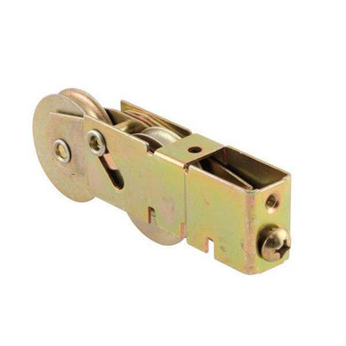 1-1/2 in. Stainless Steel Sliding Door Tandem Roller Assembly 3/4 in. x 1-1/8 in. Housing Damaged Package-tie downs, chains, & straps-Tool Mart Inc.