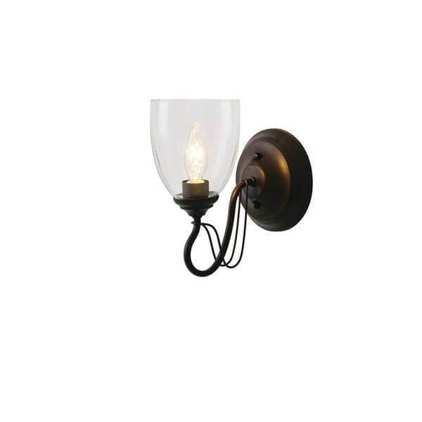 1-Light Bronze Wall Sconce Damaged Box-sconces & wall fixtures-Tool Mart Inc.