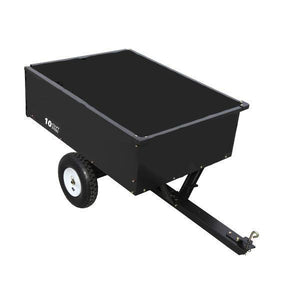 10-cu ft Steel Yard Cart-wheelbarrows & yard carts-Tool Mart Inc.