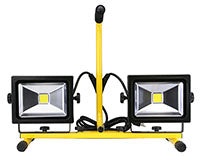 Bulldog 3600 Lumens Double Head LED Worklight