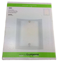 12 Watt Brushed Nickel Integrated LED Sconce Damaged Box
