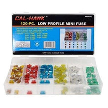 120 Piece Low Profile Mini Fuse-automotive-Tool Mart Inc.