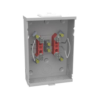 125 Amp Ringless Overhead/Underground Meter Socket Damaged Box-testers & meters-Tool Mart Inc.
