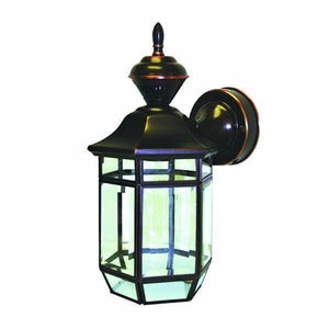 150 Degree Antique Copper Lexington Lantern with Clear Beveled Glass Damaged Box-Lighting-Tool Mart Inc.