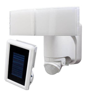 180° White Solar Powered Motion LED Security Light with Battery Backup Damaged Box-security & motion sensor lights-Tool Mart Inc.