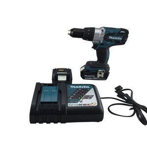 "18V LXT® Lithium‑Ion Brushless Cordless 1/2"" Hammer Driver‑Drill Kit Reconditioned-Makita-Tool Mart Inc."