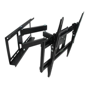 26-55 in. Full Motion Television Wall Mount in Black Damaged Box-tv mounts-Tool Mart Inc.