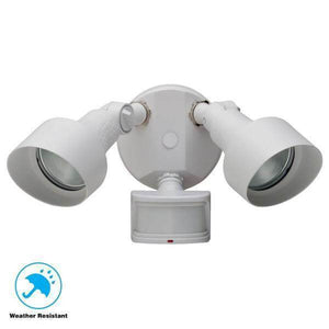 270-Degree White Motion Outdoor Security-Light Damaged Box-security & motion sensor lights-Tool Mart Inc.