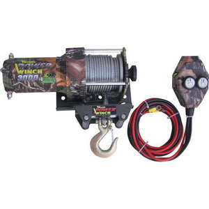 3000 Pound Real Tree Hardwoods Winch-winches & jacks-Tool Mart Inc.