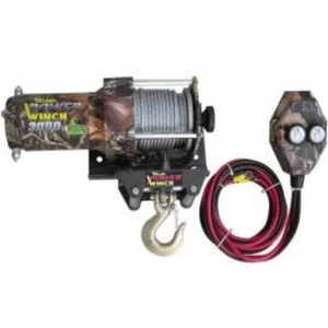 3000 Pound Winch Real Tree-winches & jacks-Tool Mart Inc.