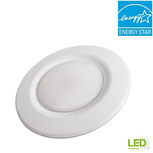 4 in. Soft White Recessed LED Can Disk Light Damaged Box-recessed fixtures-Tool Mart Inc.
