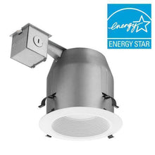5 in. White Recessed Baffle Integrated LED Lighting Kit Damaged Box-recessed fixtures-Tool Mart Inc.