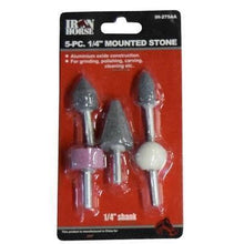 "5 PC. 1/4"" Mounted Stone Set-air tool accessories-Tool Mart Inc."