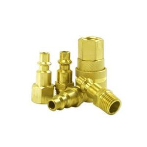5 PC. Hi-Flo Brass Coupler Set-air tool accessories-Tool Mart Inc.