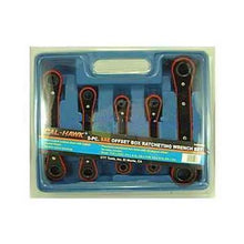 5 PC Offset Box Ratchet Set-ratchets, sockets, & adapters-Tool Mart Inc.