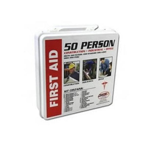 50-Person First Aid Kit Meets ANSI Standard 7308-first aid-Tool Mart Inc.
