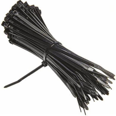 100 Piece Cable Ties 8 Inches