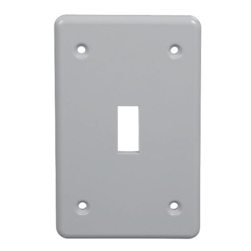 Carlon Gray Weatherproof Switch Cover