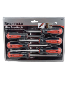6 Piece Screwdriver Set Sheffield-screwdrivers & keys-Tool Mart Inc.