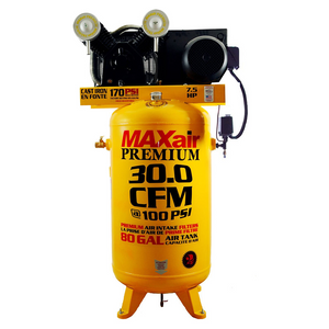 MaxAir 7.5 HP 80 Gallon Air Compressor