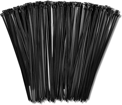 1000 Black Heavy Duty Zip Ties 8 Inch