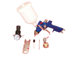 Spray Gun Air With Gauge
