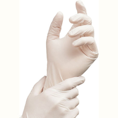 Latex Exam Gloves Size Small
