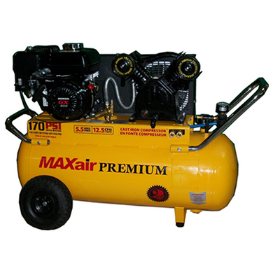 MaxAir 6.5 Horsepower 25 Gallon Portable Air Compressor