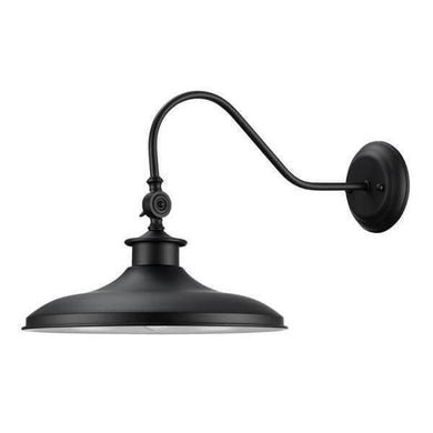 Aedan 1-Light Black Swivel Wall Sconce Light Damaged Box-sconces & wall fixtures-Tool Mart Inc.