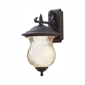 Aged Patina outdoor wall latern sconce with photocell damaged box-outdoor lighting-Tool Mart Inc.