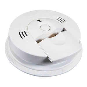Battery Operated Smoke and Carbon Monoxide Combination Detector with Voice Alarm and Intelligent Hazard Sensing Damaged package-detectors, alarms, & radios-Tool Mart Inc.