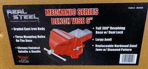 Bench Vise 6 Inch-pliers, plier sets, and vises-Tool Mart Inc.