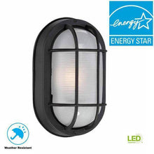 Black Outdoor LED Wall Lantern Damaged Box-outdoor lighting-Tool Mart Inc.
