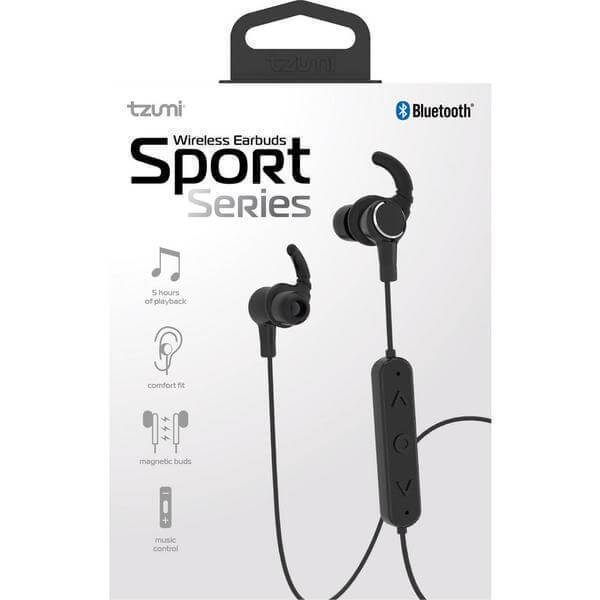 Bluetooth Sport Series Wireless Magnetic Earbuds Damaged Box-Cell Phone Accessories-Tool Mart Inc.